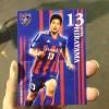 鹿島戦直前!今日の選手カードは国立男平山!