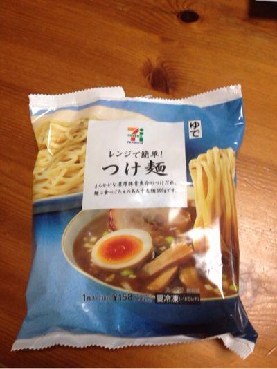 セブンイレブンの冷凍つけ麺を食べてみた