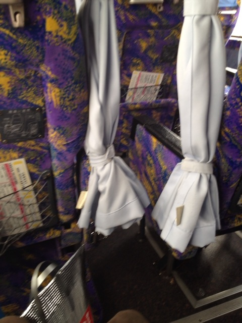 さくら観光の3列シートバス「リラックス3」に乗ってみた。